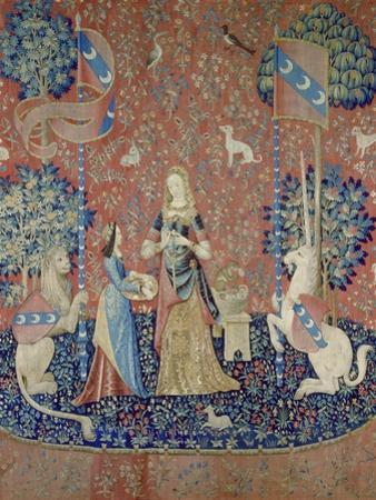 The Lady and the Unicorn: Smell, Between 1484 and 1500