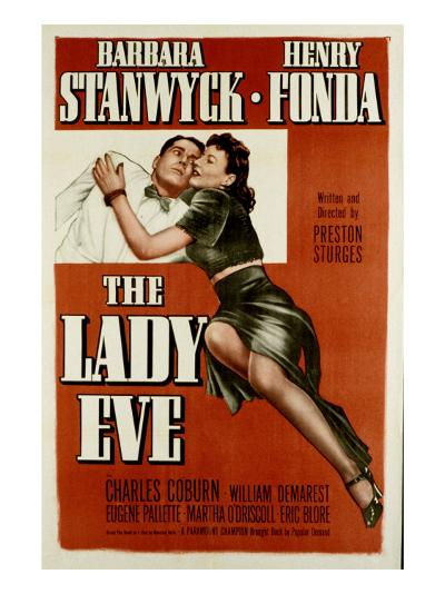 The Lady Eve, Henry Fonda, Barbara Stanwyck, 1941--Photo