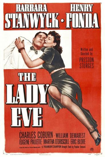 The Lady Eve, Henry Fonda, Barbara Stanwyck, 1941--Art Print