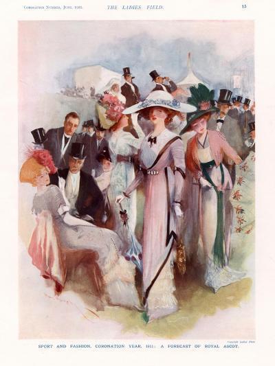 The Lady, Magazine Plate, UK, 1911--Giclee Print