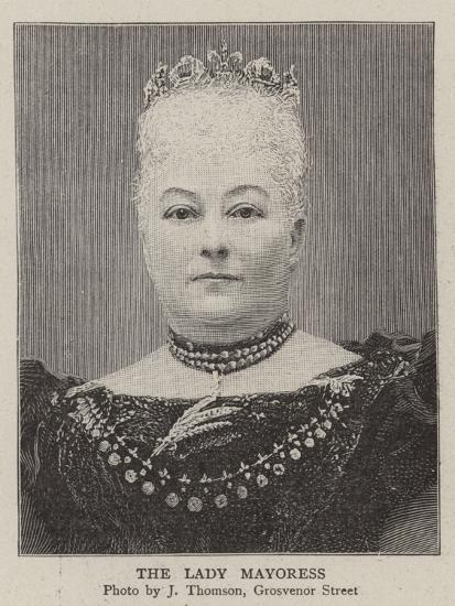 The Lady Mayoress--Giclee Print