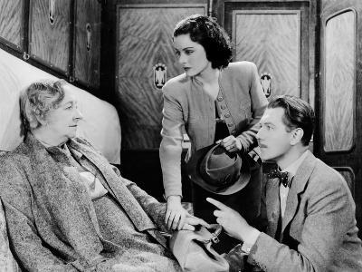 The Lady Vanishes, Dame May Whitty, Margaret Lockwood, Michael Redgrave, 1938--Photo