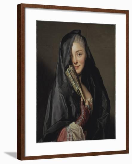The Lady with the Veil, 1768-Alexander Roslin-Framed Giclee Print