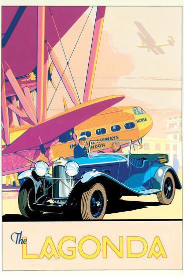 The Lagonda-Brian James-Art Print