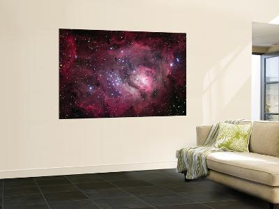 The Lagoon Nebula--Wall Mural