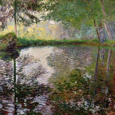 The Lake at Montgeron-Claude Monet-Giclee Print