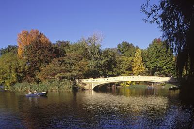 The Lake, Central Park, Manhattan, New York, USA-Peter Bennett-Photographic Print