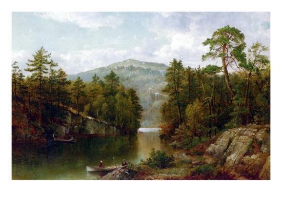 The Lake George, 1876-David Johnson-Giclee Print