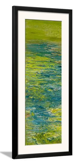 The Lake II-Roberto Gonzalez-Framed Art Print