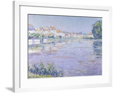 The Lake of Boitsfort, Houses of the Chausee de la Hulpe-Paul Mathieu-Framed Giclee Print