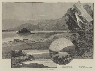 The Lakes of Killarney-Charles Auguste Loye-Giclee Print