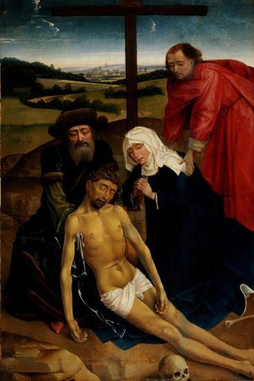 The Lamentation of Christ, C.1460-75-Rogier van der Weyden-Giclee Print