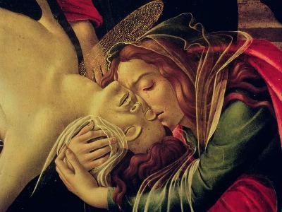 The Lamentation of Christ, circa 1490-Sandro Botticelli-Giclee Print