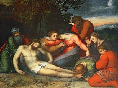 The Lamentation of Christ-Otto van Veen-Giclee Print