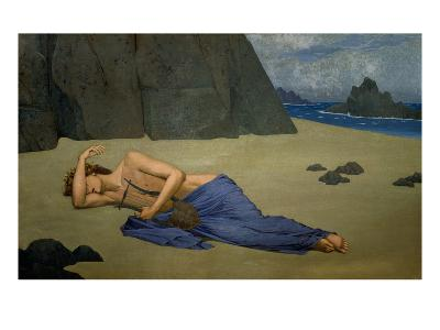 The Lamentation of Orpheus-Alexandre Seon-Giclee Print