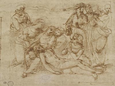 The Lamentation-Raphael-Giclee Print