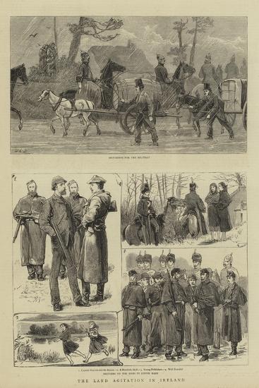 The Land Agitation in Ireland-John Charles Dollman-Giclee Print