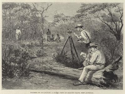 The Land of the Golden Nugget, Hampton Plains-Julius Mandes Price-Giclee Print