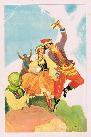 The Land of the Rainbow-Violet Mason-Giclee Print
