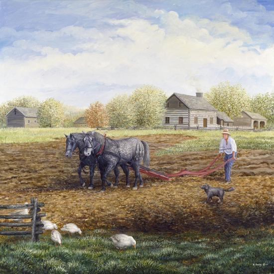 The Land Provides-Kevin Dodds-Giclee Print
