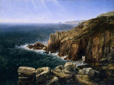 The Land's End, Cornwall-Thomas Creswick-Giclee Print