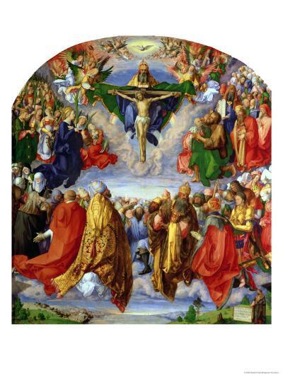 The Landauer Altarpiece, All Saints Day, 1511-Albrecht D?rer-Giclee Print