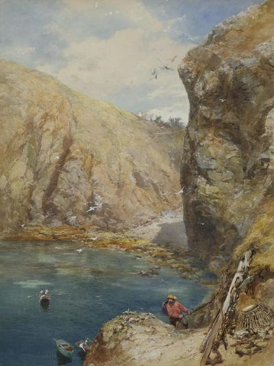 The Landing Place at Havre Gosselin, Sark-Paul Jacob Naftel-Giclee Print