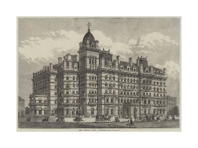 The Langham Hotel, Portland-Place--Giclee Print