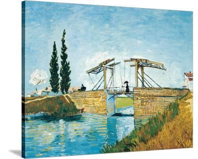 The Langlois Drawbridge-Vincent van Gogh-Stretched Canvas Print
