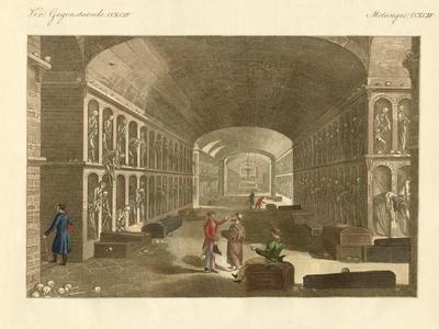 The Large Catacombs Near Palermo--Giclee Print