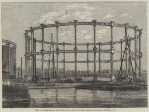 The Large Gasholder at the Imperial Gas Company's Works, Bethnal-Green