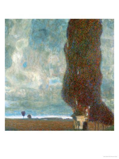 The Large Poplar Tree (II) or Coming Storm-Gustav Klimt-Giclee Print