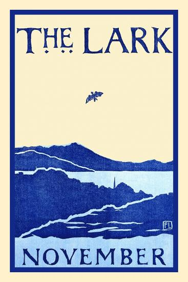The Lark November-Florence Lundborg,-Art Print