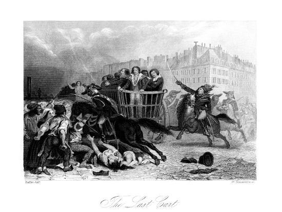 The Last Cart, 1845-J Somerville-Giclee Print
