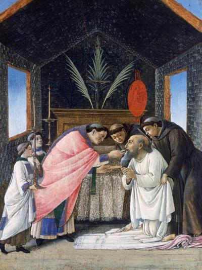 The Last Communion of St Jerome, C1495-Sandro Botticelli-Giclee Print