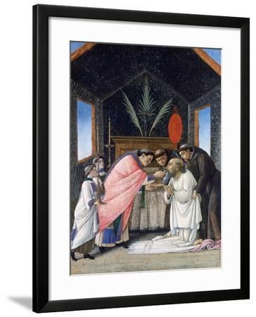 The Last Communion of St Jerome, C1495-Sandro Botticelli-Framed Giclee Print