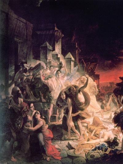 The Last Day of Pompeii' Detail, 1833-Karl Briullov-Giclee Print