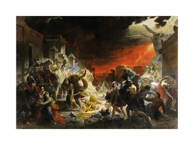 The Last Day of Pompeii-Karl Briullov-Giclee Print