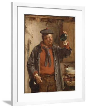 The Last Drop, 1872-Erskine Nicol-Framed Giclee Print