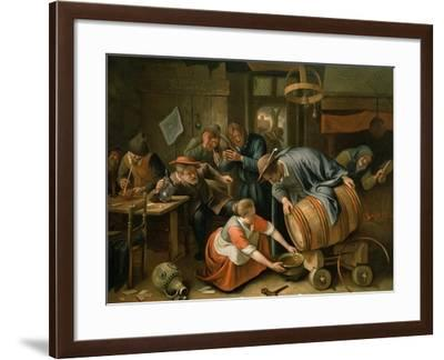The Last Drop-Jan Havicksz^ Steen-Framed Giclee Print