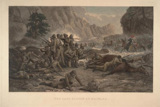 The Last Eleven at Maiwand, 1884-Frank Feller-Giclee Print