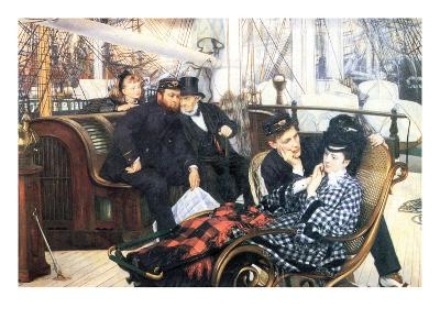 The Last Evening-James Tissot-Art Print