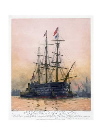 The Last Journey of Hms Victory--Giclee Print