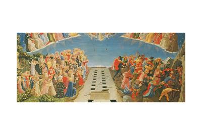 The Last Judgement, Altarpiece from Santa Maria Degli Angioli, C.1431--Giclee Print