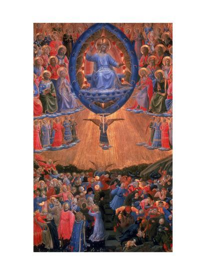 The Last Judgement, C1420-1455-Fra Angelico-Giclee Print