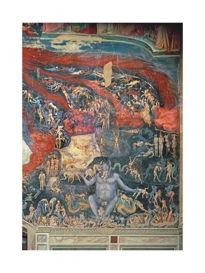 The Last Judgement, Detail of Hell, 1303-05-Giotto di Bondone-Giclee Print
