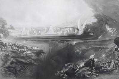 The Last Judgement, Engraved by Charles Mottram (1807-76) Pub. by Thomas Mclean, 1856-John Martin-Giclee Print