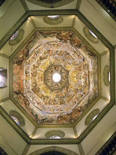 The Last Judgement, from the Cupola of the Duomo, 1572-79-Giorgio Vasari-Giclee Print