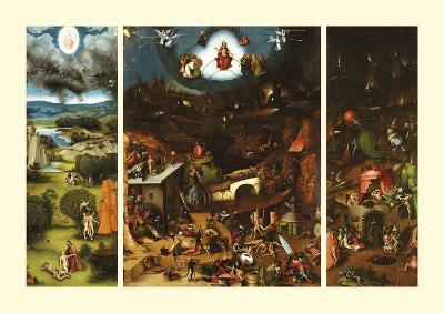 The Last Judgement-Lucas Cranach the Elder-Premium Giclee Print