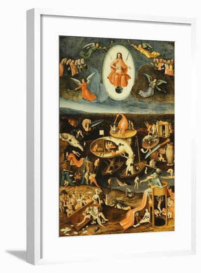 The Last Judgement-Hieronymus Bosch-Framed Giclee Print